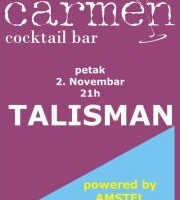 02.11.2012. – CARMEN Cocktail bar Prijedor: Talisman band