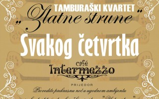 """Tamburaški kvartet """"Zlatne strune"""""""