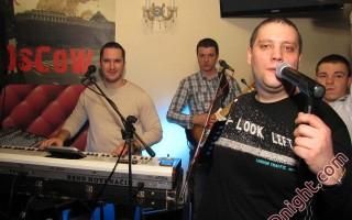 Bend Novi Način - Čela i Miki, Caffe Moscow Prijedor, 01.12.2012.