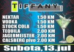 13.07.2013. – Caffe Tiffany Prijedor: Promo party