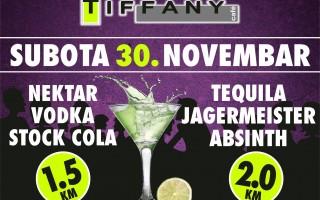30.11.2013. – Caffe Tiffany Prijedor: Promo party