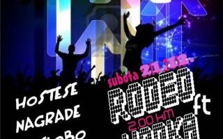 21.12.2013. – Olimp caffe & bar Prijedor: Rodeo ft vodka night