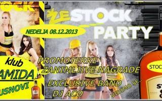 08.12.2013. – Disco club Piramida Busnovi: Big Stock party