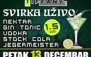 13.12.2013. – Caffe Tiffany Prijedor: Svirka uživo