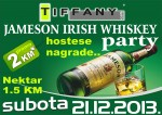 21.12.2013. – Caffe Tiffany Prijedor: Jameson Irish Whiskey party