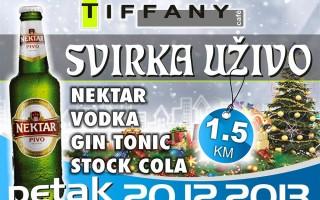 20.12.2013. – Caffe Tiffany Prijedor: Svirka uživo