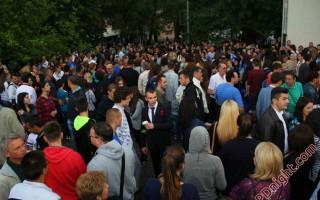 """Maturanti Gimnazije """"Sveti Sava"""" Prijedor, 29.05.2014."""
