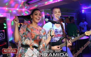 Exclusive band @ Disco club Piramida Busnovi, 15.06.2014.
