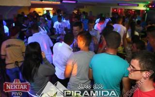 Exclusive band @ Disco club Piramida Busnovi, 06.07.2014.