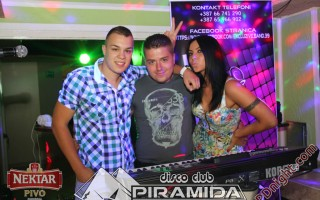 Exclusive band @ Disco club Piramida Busnovi, 17.08.2014.