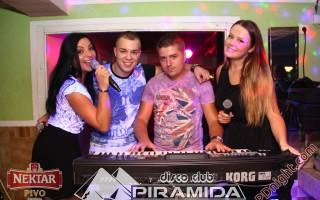 Promo vikend @ Disco club Piramida Busnovi, 07.09.2014.
