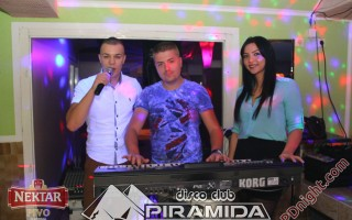 Exclusive band @ Disco club Piramida Busnovi, 23.11.2014.