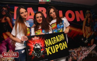 Nektar party team, Club Babylon Prijedor, 28.11.2014.