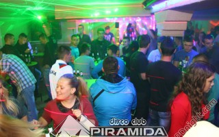 Smirnoff North party, Disco club Piramida Busnovi, 09.11.2014.