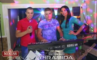 Exclusive band @ Disco club Piramida Busnovi, 16.11.2014.