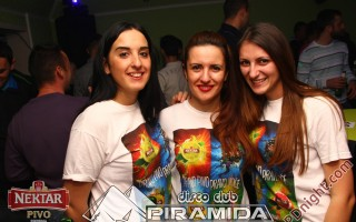 Nektar party team, Disco club Piramida Busnovi, 21.12.2014.