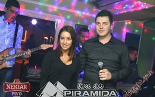 Saša Đurić, Disco club Piramida Busnovi, 14.12.2014.