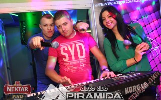 Jack Daniel's party, Disco club Piramida Busnovi, 25.01.2015.