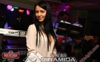 Jovana Dronjak & Remix band Prijedor, Disco club Piramida Busnovi, 22.02.2015.