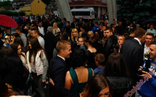 Maturanti JU Srednjoškolski centar Prijedor, 22.05.2015.
