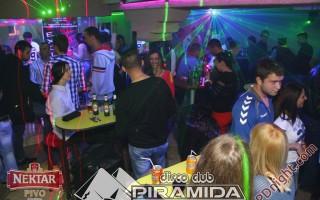 Red vodka party, Disco club Piramida Busnovi, 25.10.2015.