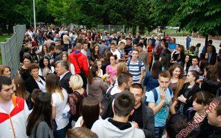 Maturanti JU Srednjoškolski centar i Muzičke škole Prijedor, 18.05.2016.