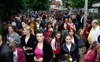 Maturanti Mašinske i Poljoprivredno-prehrambene škole Prijedor, 19.05.2016.