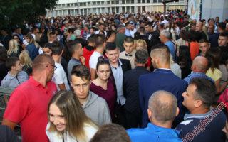 """Maturanti JU centar """"Sunce"""", Mašinske i Poljoprivredno-prehrambene škole Prijedor, 25.05.2018."""